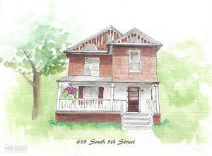619 S. 5th Street Apt #1