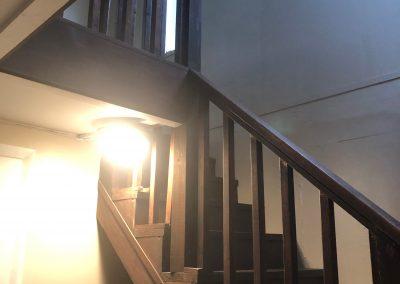 Main stairwell